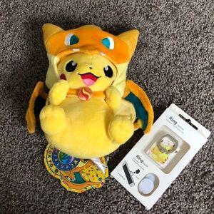 Pikachu bundle NWT